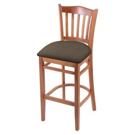 "3120 25"" Counter Stool with Medium Finish and Canter Earth Seat"
