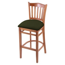 "3120 25"" Counter Stool with Medium Finish and Canter Pine Seat"