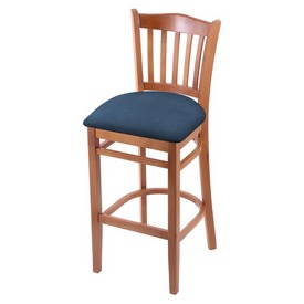 "3120 30"" Bar Stool with Medium Finish and Rein Bay Seat"