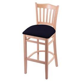 "3120 30"" Bar Stool with Natural Finish and Canter Twilight Seat"