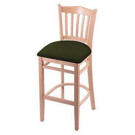 "3120 25"" Counter Stool with Natural Finish and Canter Pine Seat"
