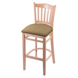 """3120 25"""" Counter Stool with Natural Finish and Canter Sand Seat"""