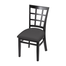 """3130 18"""" Chair with Black Finish and Canter Storm Seat"""