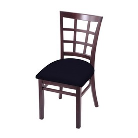 """3130 18"""" Chair with Dark Cherry Finish and Canter Twilight Seat"""