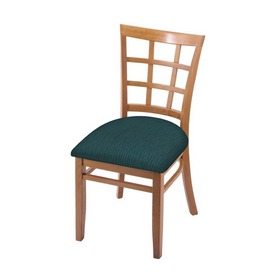 """3130 18"""" Chair with Medium Finish and Graph Tidal Seat"""