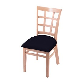 """3130 18"""" Chair with Natural Finish and Canter Twilight Seat"""