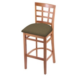3130 Stool with Medium Finish and Graph Cork Seat