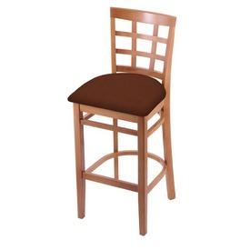 3130 Stool with Medium Finish and Rein Adobe Seat