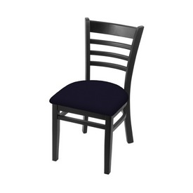 """3140 18"""" Chair with Black Finish and Canter Twilight Seat"""