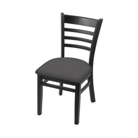 """3140 18"""" Chair with Black Finish and Canter Storm Seat"""