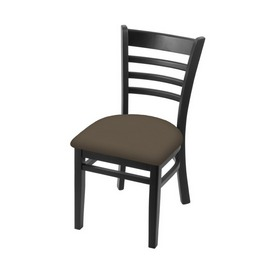 """3140 18"""" Chair with Black Finish and Canter Earth Seat"""