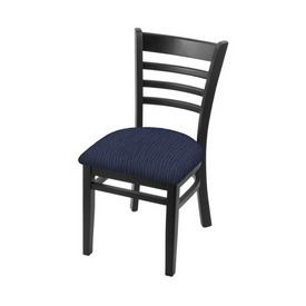 """3140 18"""" Chair with Black Finish and Graph Anchor Seat"""