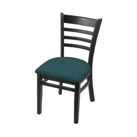 """3140 18"""" Chair with Black Finish and Graph Tidal Seat"""