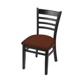 """3140 18"""" Chair with Black Finish and Rein Adobe Seat"""