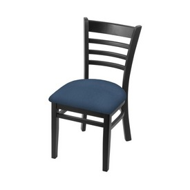 """3140 18"""" Chair with Black Finish and Rein Bay Seat"""