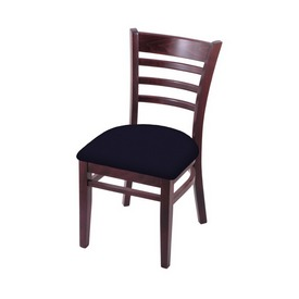 """3140 18"""" Chair with Dark Cherry Finish and Canter Twilight Seat"""