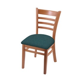 """3140 18"""" Chair with Medium Finish and Graph Tidal Seat"""