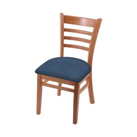 """3140 18"""" Chair with Medium Finish and Rein Bay Seat"""