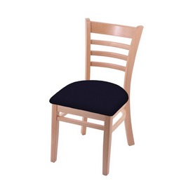 """3140 18"""" Chair with Natural Finish and Canter Twilight Seat"""