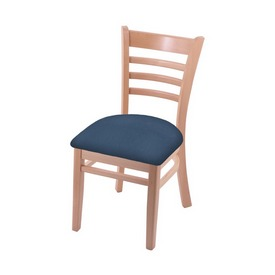 """3140 18"""" Chair with Natural Finish and Rein Bay Seat"""