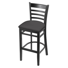 3140 Stool with Black Finish and Canter Storm Seat