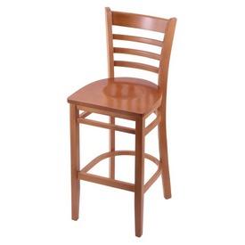 3140 Stool with Medium Finish and Medium Seat