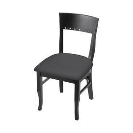 """3160 18"""" Chair with Black Finish and Canter Storm Seat"""
