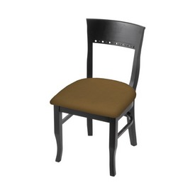 """3160 18"""" Chair with Black Finish and Canter Saddle Seat"""