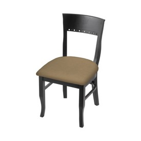 """3160 18"""" Chair with Black Finish and Canter Sand Seat"""