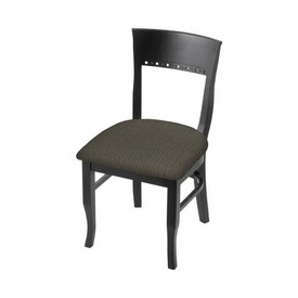 """3160 18"""" Chair with Black Finish and Graph Chalice Seat"""