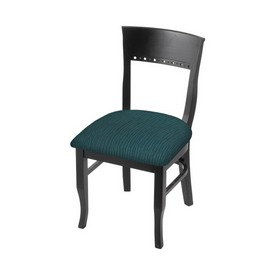 """3160 18"""" Chair with Black Finish and Graph Tidal Seat"""