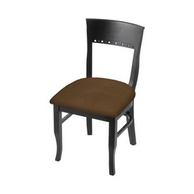 """3160 18"""" Chair with Black Finish and Rein Thatch Seat"""