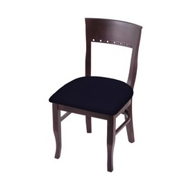"""3160 18"""" Chair with Dark Cherry Finish and Canter Twilight Seat"""