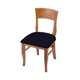 """3160 18"""" Chair with Medium Finish and Canter Twilight Seat"""