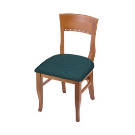 """3160 18"""" Chair with Medium Finish and Graph Tidal Seat"""