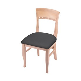 """3160 18"""" Chair with Natural Finish and Canter Storm Seat"""