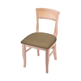 """3160 18"""" Chair with Natural Finish and Canter Sand Seat"""