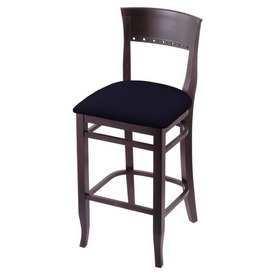 """3160 25"""" Counter Stool with Dark Cherry Finish and Canter Twilight Seat"""