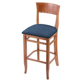 """3160 25"""" Counter Stool with Medium Finish and Rein Bay Seat"""