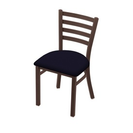 """400 Jackie 18"""" Chair with Bronze Finish and Canter Twilight Seat"""