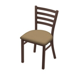 """400 Jackie 18"""" Chair with Bronze Finish and Canter Sand Seat"""