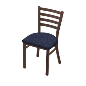 """400 Jackie 18"""" Chair with Bronze Finish and Graph Anchor Seat"""