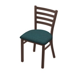 """400 Jackie 18"""" Chair with Bronze Finish and Graph Tidal Seat"""