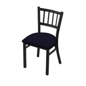 """610 Contessa 18"""" Chair with Black Wrinkle Finish and Canter Twilight Seat"""