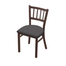 """610 Contessa 18"""" Chair with Bronze Finish and Canter Storm Seat"""