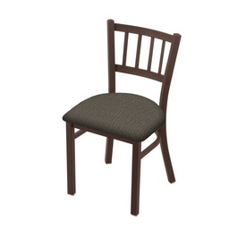 """610 Contessa 18"""" Chair with Bronze Finish and Graph Chalice Seat"""