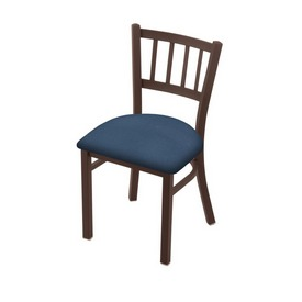 """610 Contessa 18"""" Chair with Bronze Finish and Rein Bay Seat"""