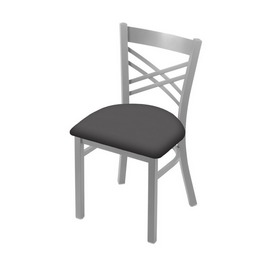 "620 Catalina 18"" Chair with Anodized Nickel Finish and Canter Storm Seat"