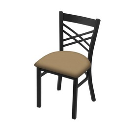 "620 Catalina 18"" Chair with Black Wrinkle Finish and Canter Sand Seat"