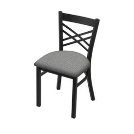 "620 Catalina 18"" Chair with Black Wrinkle Finish and Graph Alpine Seat"